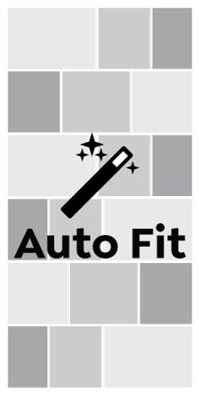 Auto Fit, Double Square Portrait