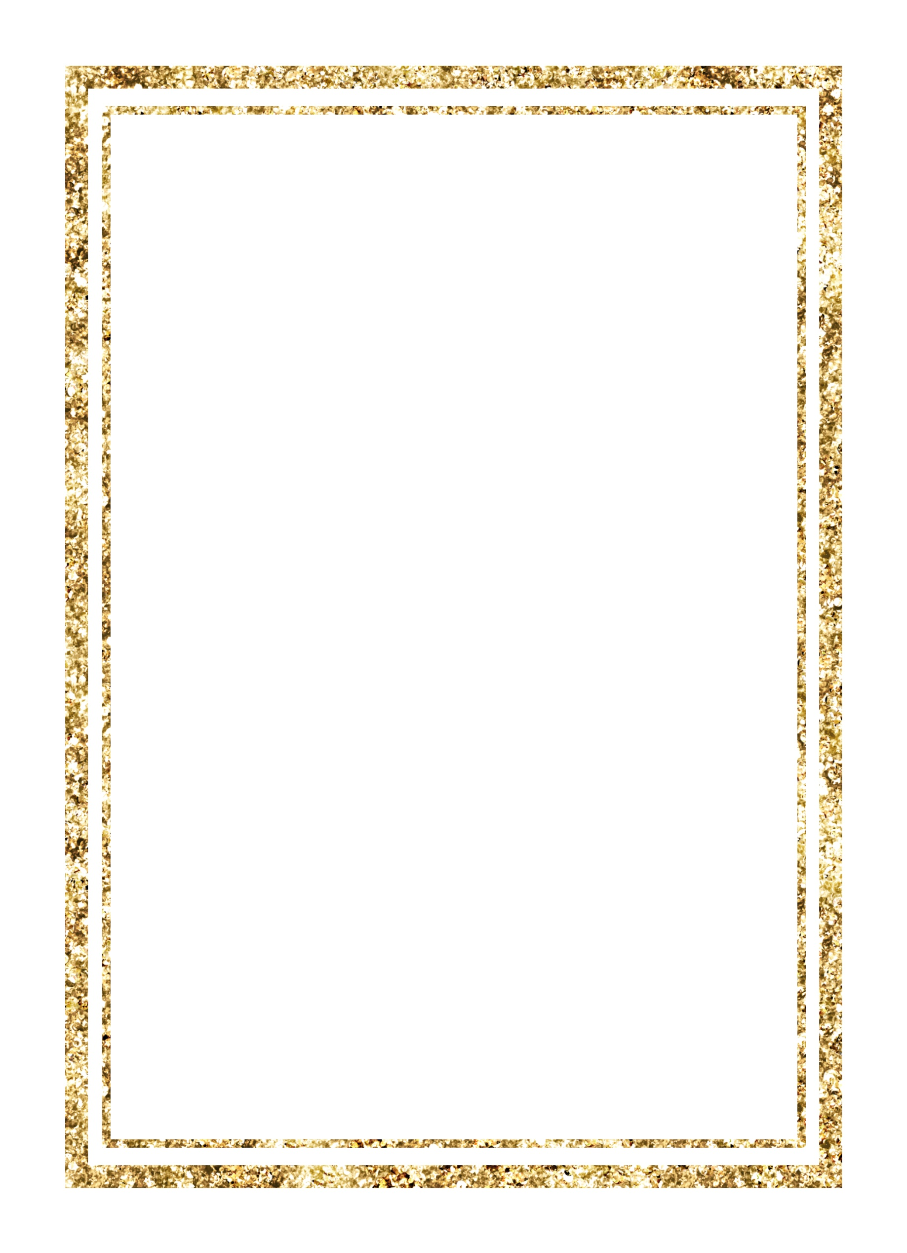 Double Gold Border