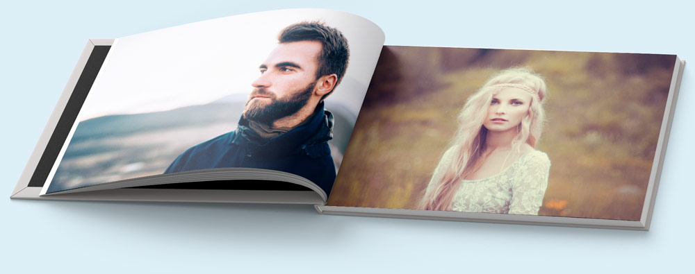 Photo Book designed in Professional Software