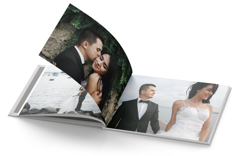 Custom Printed Landscape Photo Book