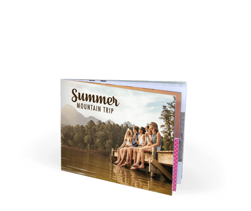 9x7 Saddle Stitch Softcover Photo Book