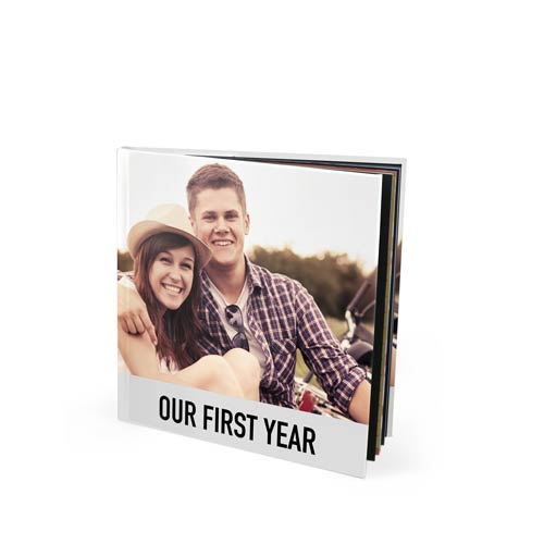 8x8 Seamless Layflat Photo Book